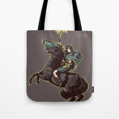 Crossing the forbidden lands Tote Bag