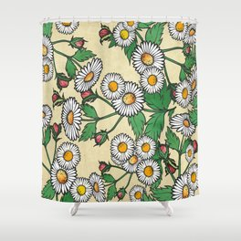 Shower Curtain - Daisies - Kakel
