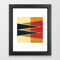 Abstract #42 Framed Art Print