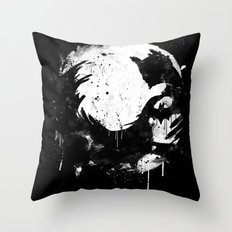 Dark Moon Throw Pillow