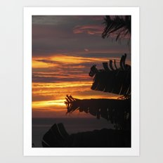 Caribbean Sunset III Art Print