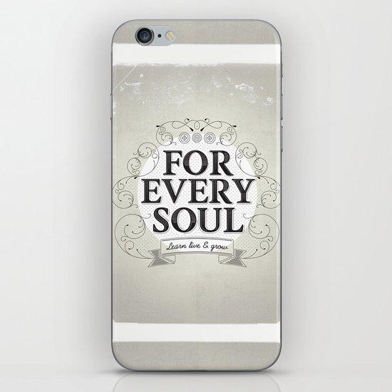Every Soul iPhone & iPod Skin