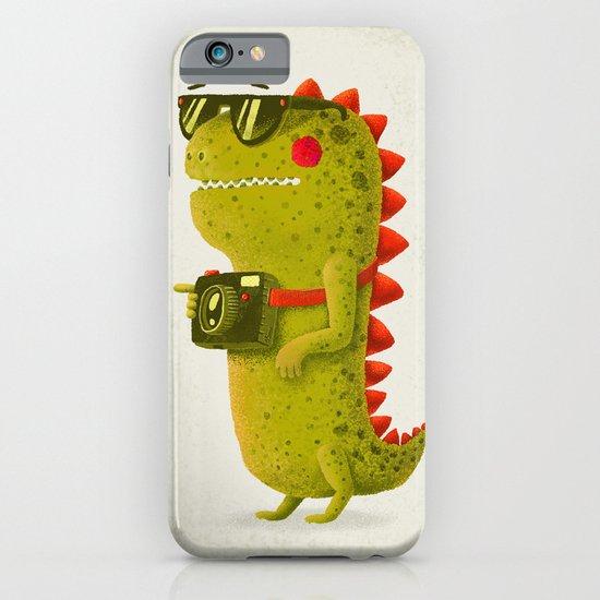 Dino touristo (olive) iPhone & iPod Case