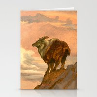 Thar (Tahr) On The Tops Stationery Cards