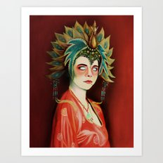 Big Trouble In Little China Kim Cattrall As Gracie Law Oil Painting on Canvas Art Print