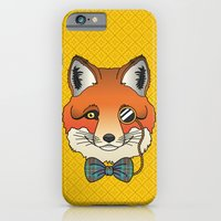 iPhone & iPod Case featuring Dapper Fox by Jade Boylan