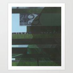 Lawn study 1 Art Print