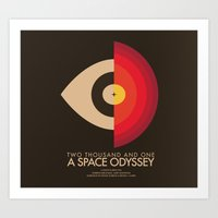 Stanley Kubrick - 2001: A Space Odessey Art Print