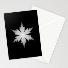 Fractal Snowflake Stationery Cards