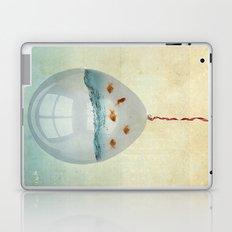 balloon fish o2, freedom in a bubble Laptop & iPad Skin