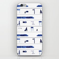Travel by train #2 iPhone & iPod Skin