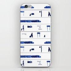 Travel by train #2 iPhone & iPod Skin