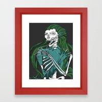 Dead Siren - Hold on Tight Framed Art Print