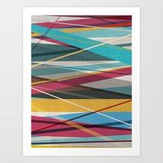 Geometric Prison 2 Art Print