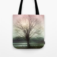 Village Green Tree Tote Bag