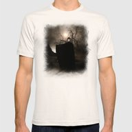 The Seventh Seal Mens Fitted Tee Natural SMALL