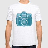 I Still Shoot Film Camer… Mens Fitted Tee Ash Grey SMALL