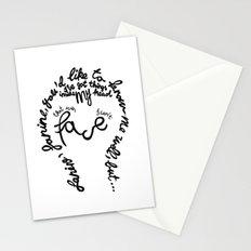 David Bowie - Janine Stationery Cards