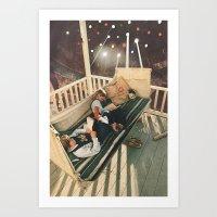 Cloudlight Art Print