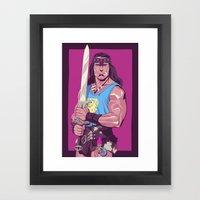 Conan The Barbarian Framed Art Print