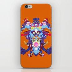 Toon Rorschach I iPhone & iPod Skin