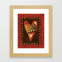 Crazy For Love Framed Art Print