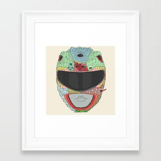 Dead Ranger Framed Art Print