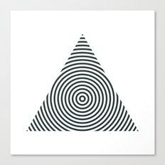 #238 Pyramid – Geometry Daily Canvas Print