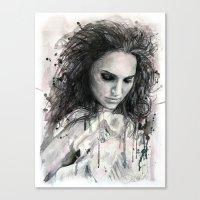 Black Swan - Natalie Por… Canvas Print