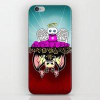 Angel and Demon RonkyTonk iPhone & iPod Skin
