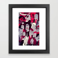 The Rocky Horror Picture Show Framed Art Print