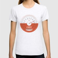 FU MANCHU - Austin, TX - 04/27/13 Womens Fitted Tee Ash Grey SMALL