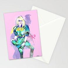 Hedda In Motion XO Stationery Cards