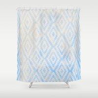 Summer Fade: Deep Sea Shower Curtain