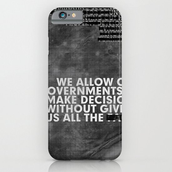 The Facts iPhone & iPod Case