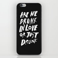 DRUNK iPhone & iPod Skin