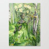 Metigoshe Canvas Print