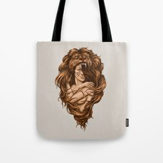 Lion Queen Tote Bag