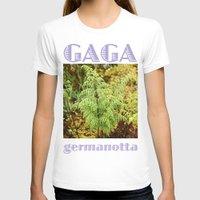 lady gaga T-shirts featuring Gaga germanotta by Duke Herbarium