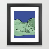 Gale Framed Art Print