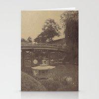 Japanese Bridge Stationery Cards
