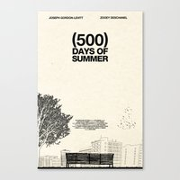 (500) Days Of Summer Canvas Print