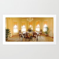Bass Mansion Art Print