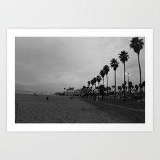 Bare Beach Art Print