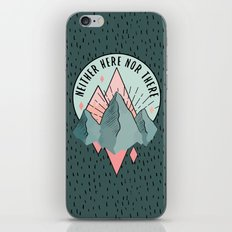 The Mountains iPhone & iPod Skin