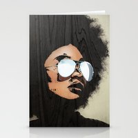 Venus Afro Stationery Cards