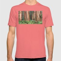 Luxatis Mens Fitted Tee Pomegranate SMALL