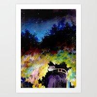 twilight Art Prints featuring Twilight by Ivanushka Tzepesh