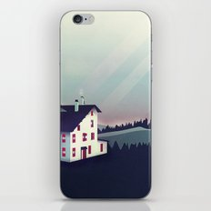 Castle In The Mountains iPhone & iPod Skin