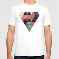 Tryypyzoyd Mens Fitted Tee White SMALL